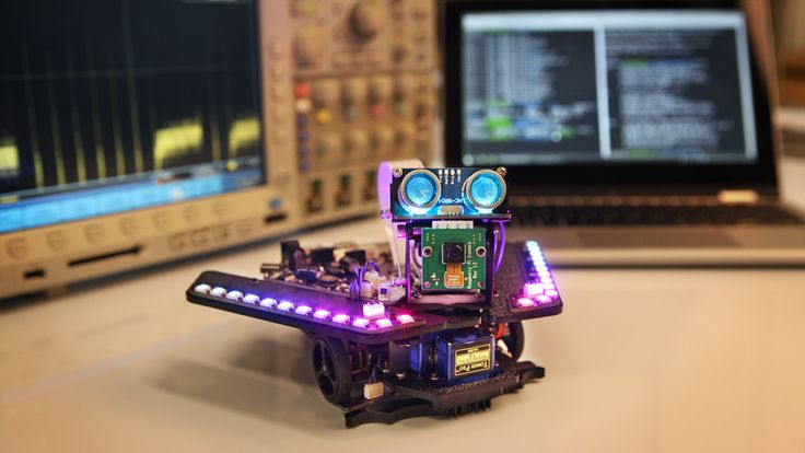 Design your own rover missions! Learn Python, C/C++, and Linux with along the way with this open and endlessly hackable robot.