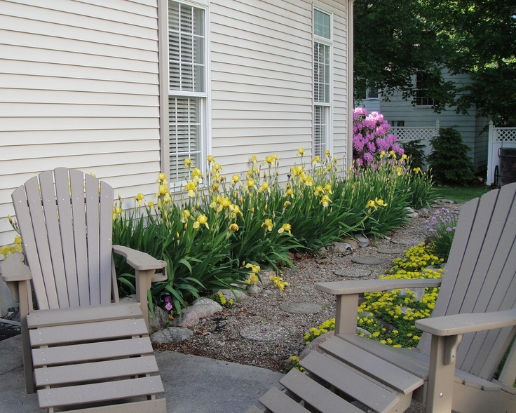 Composite adirondack chairs charming composite patio Composite adirondack chairs