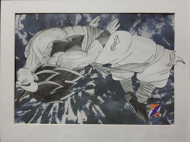 'To the Realm of Gods' Ultra Instinct Gogeta fanart from Dragon Ball Z/Super by ZorArt