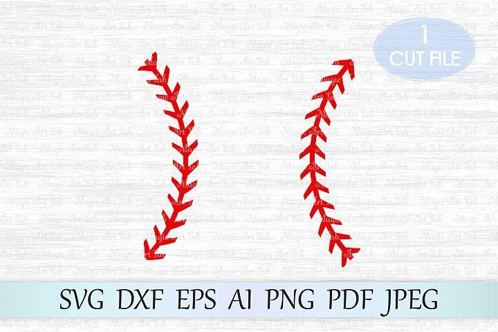 Download Baseball Stitches Svg Baseball Lace Svg Baseball Svg File Ad Baseball Stitch Baseball Svg Cricut Free