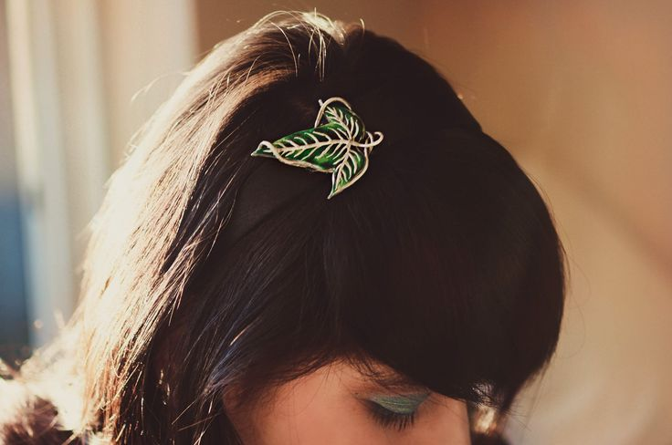Lord of The Rings Elven Leaf Accessories. $10.00, via Etsy by MarsupialPudding