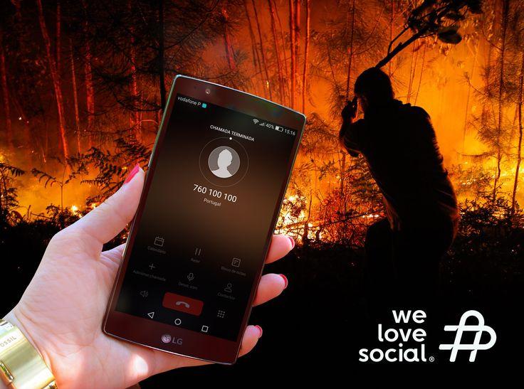 A We Love Social acredita no poder das Redes Sociais, especialmente quando se trata de ajudar. Ajudem as vítimas desta tragédia através de uma chamada para o número solidário da SIC / SIC Esperança 760 100 100 (0,60€+IVA) e juntem-se a nós neste Abraço a Portugal. Todo o valor angariado irá reverter a favor das vítimas dos incêndios! 🚒🙏🔥 #PrayforPortugal #PedrogãoGrande #AbraçoaPortugal