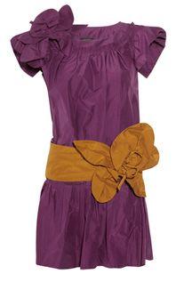 платье цвета фуксии Marc Jacobs