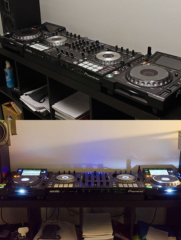 Just finished building my home setup, thought I'd post it here. - Imgur