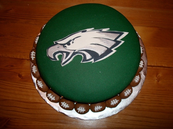 38 Best Philadelphia Eagles Cakes Images On Pinterest