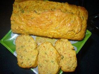 Тыквенный хлеб-кекс с зеленым луком