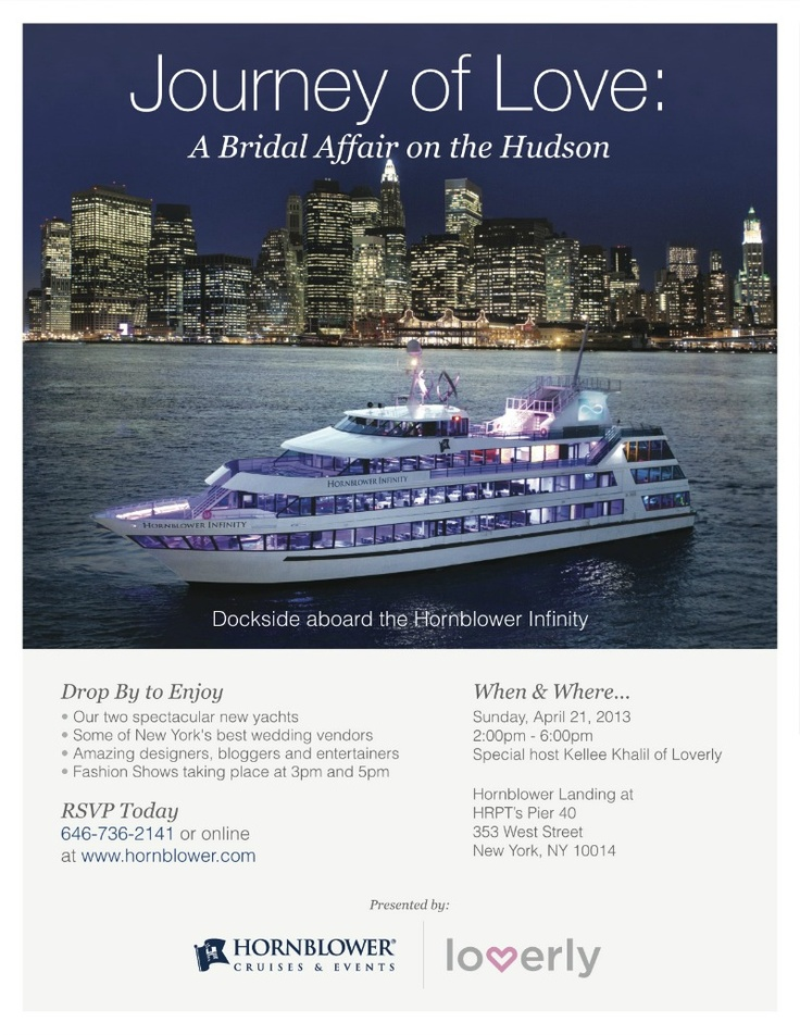 This yacht gives new meaning to luxury.    Hornblower New York & Lover.ly