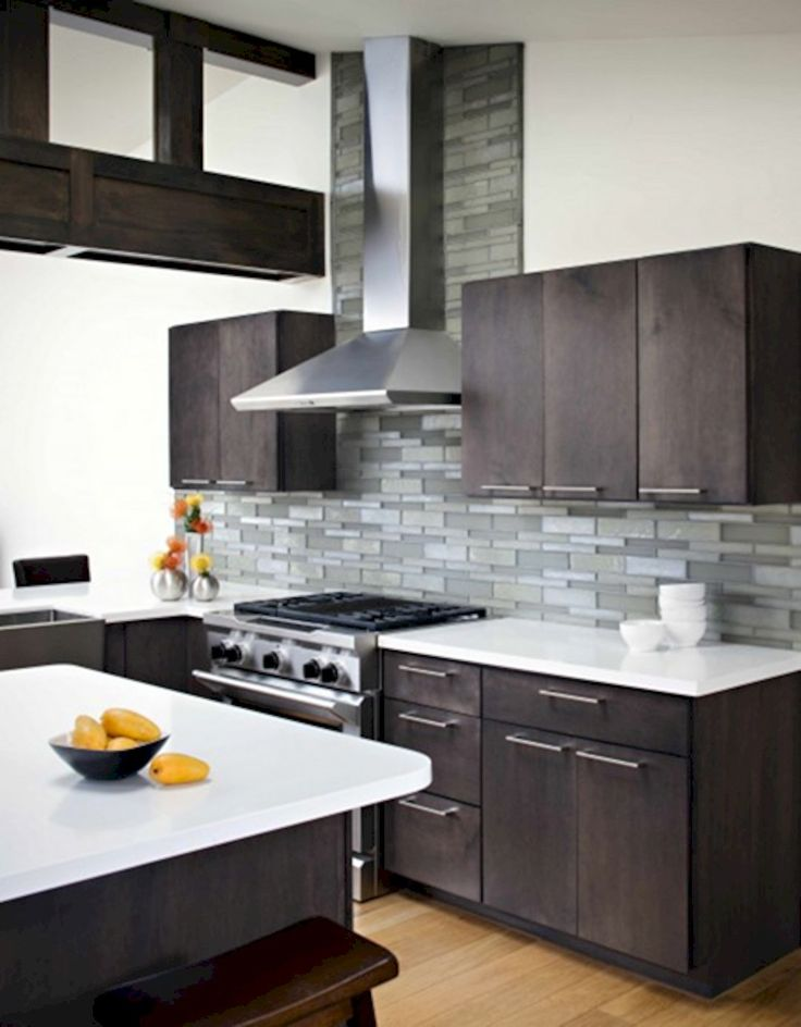 Best 25 modern kitchen cabinets ideas on pinterest modern cabinets modern grey kitchen and - Modern kitchens pictures ...