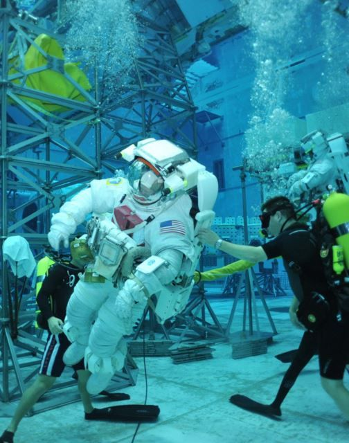 Scuba Diving with Astronauts: An Out of This World Dive Job