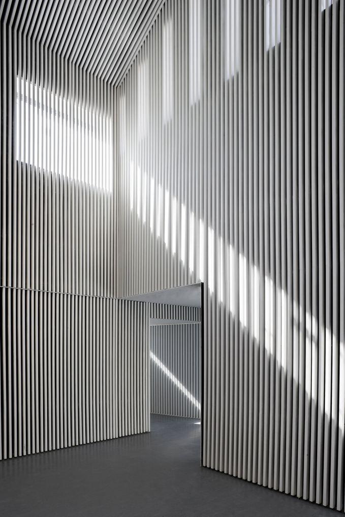 Ferreries Cultural Centre, Tortosa, Catalonia. Architects Olga Felip + Josep Camps