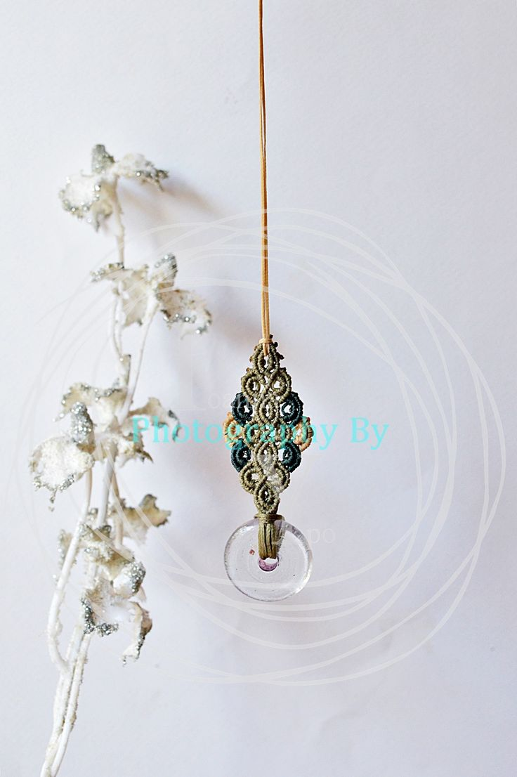 NO2 HANDMADE NECKLACE - 9 cm is the pattern and 1,5 metter the thread  FOLLOW MY FACEBOOK PAGE https://www.facebook.com/Ioanna-S-YPO-photography-115100415221540/