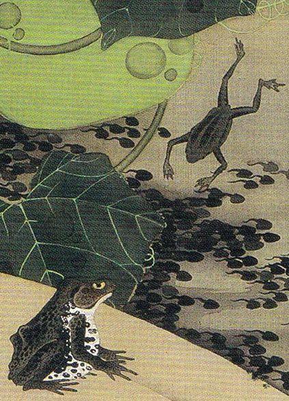 23 池辺群虫図ikebe gunchu zuinsects at a pond