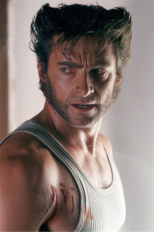 Logan / Wolverine - Hugh Jackman in X2 (X-Men 2, 2003).