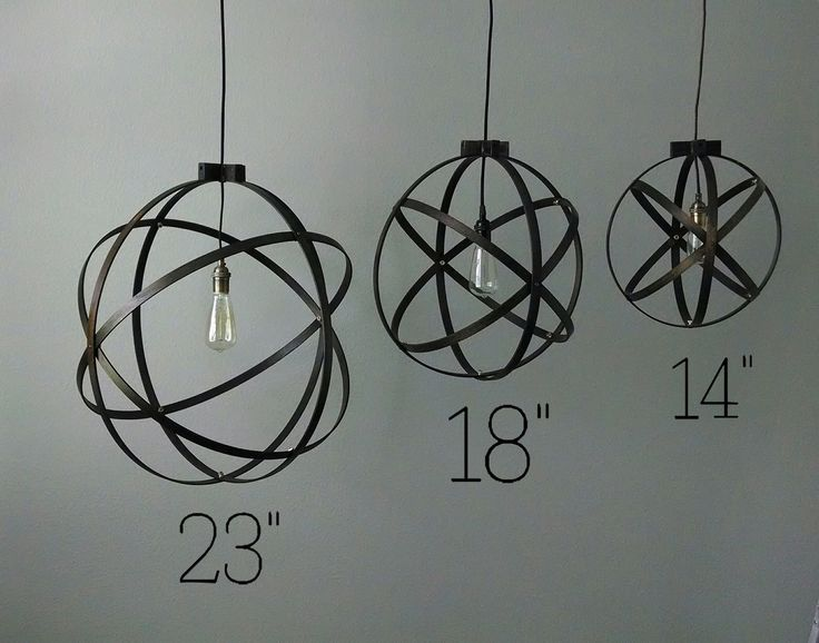 18 inch Modern Spherical Light/ Entryway Light/ by BlueOxHome, $115.00