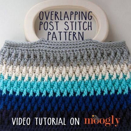 Video Tutorial for the Overlapping Post Stitch on Moogly!