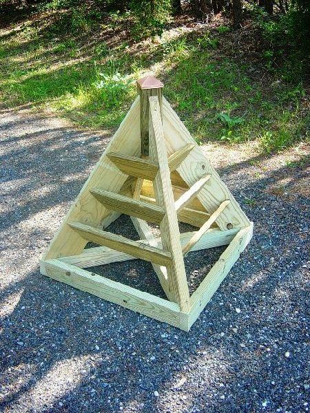 3 ft. pyramid strawberry planter