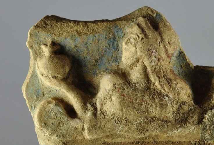 Pinax di Locri, 490-460 a.C. Tipo 1 inedito epifania di Persefone