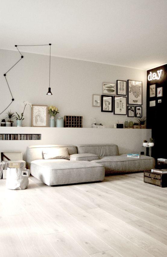 Parquet ou sol peint en blanc ?