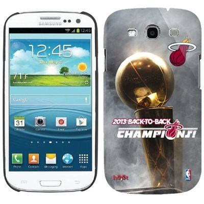 Miami Heat 2013 NBA Finals Champions Hoot Samsung Galaxy S3 Case