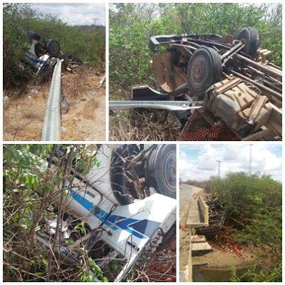 serido noticias: Acidente na decida da serra na RN 042 em Cerro Cor...