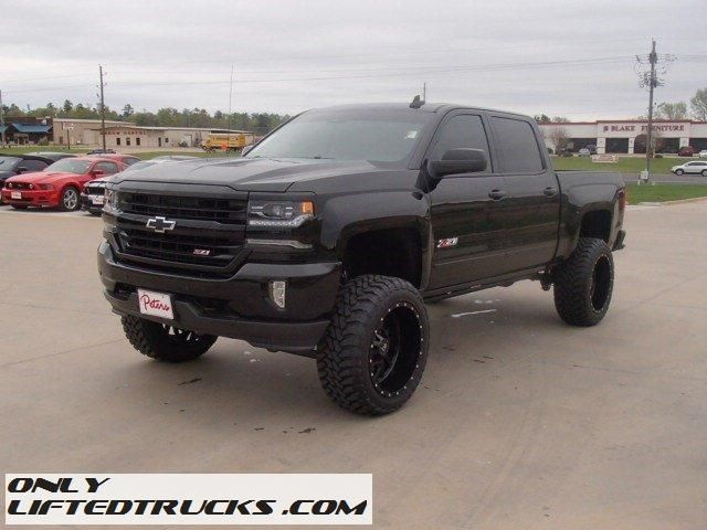 New 2016 Lifted Chevy Silverado 1500 Crew LTZ Texas