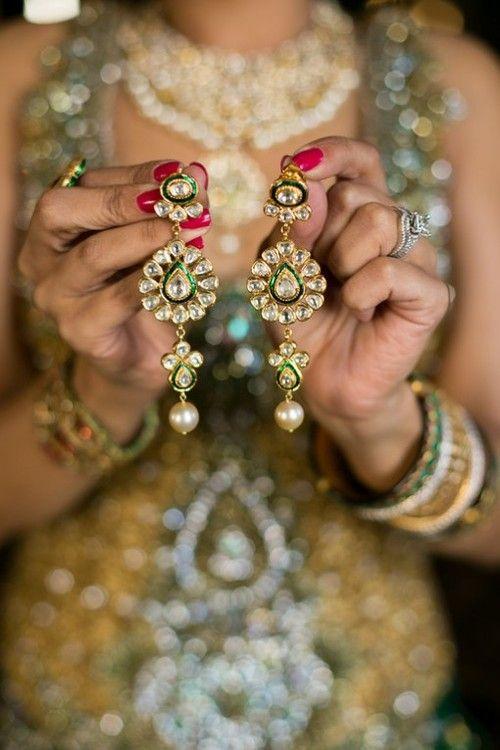 earrings & a beautiful shot