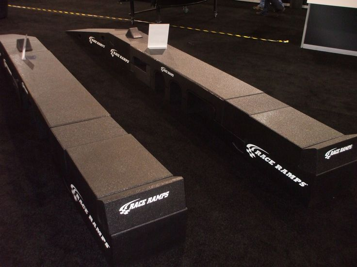 Race Ramps Portable Pit Stop Comes With 22 Individual Pieces And Can Be Adjusted To Accept 90