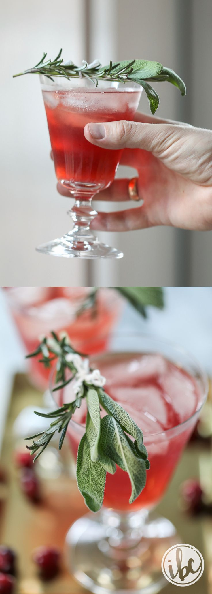 Cranberry Bourbon Cocktail recipe - Thanksgiving Cocktail - Holiday Cocktail Ideas