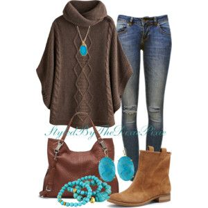 Boho chic. Boyfriend jeans. Pop of color. Fashion for women over 40.   Supernatural Style