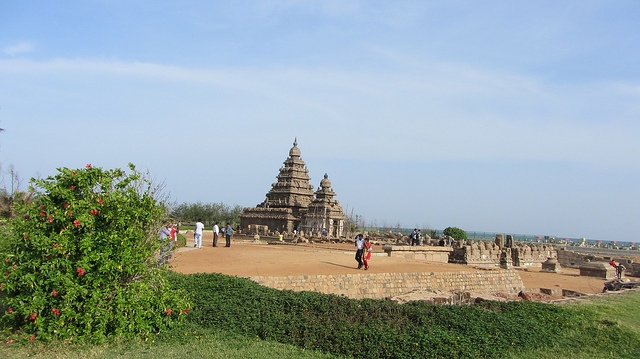 A temple in Mahabalipuram