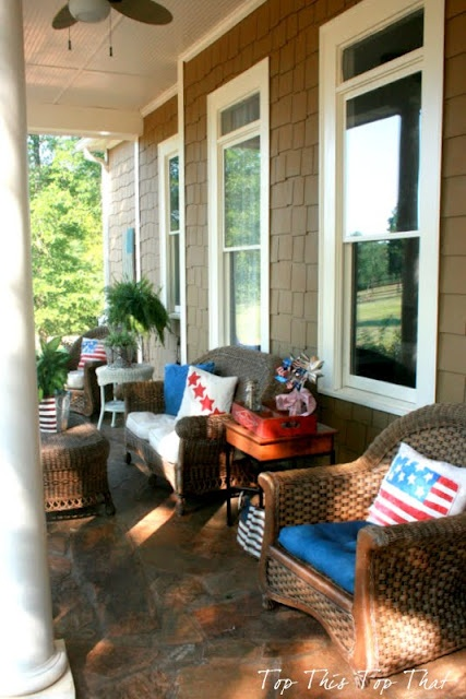 4th of July on the Front Porch