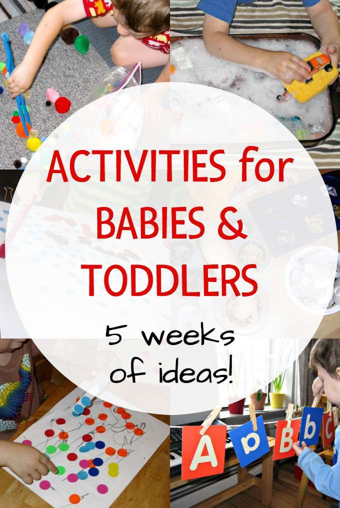 Parents With Kids 5 And Under Need This Activities For