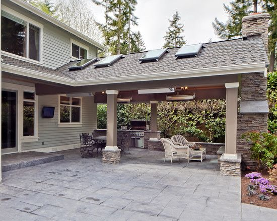 Patio Covered Patio Design, Pictures, Remodel, Decor And Ideas   Page 12