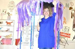 Das Quallenkostüm von DaWanda /jellyfish costume via blog.dawanda.com