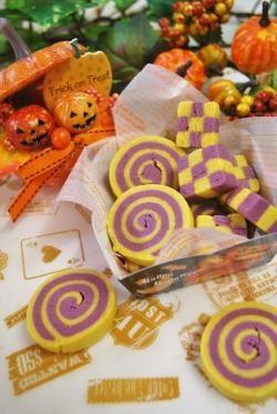「【ハロウィン】ハロウィンカラーのクッキー」ayaka | お菓子・パンのレシピや作り方【corecle*コレクル】