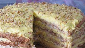 """""""Египетский торт"""" - этот рецепт будут выпрашивать все подруги! Исключительно вкусный, восхитительно нежный, изысканный торт, который украсит ваш праздничный стол и удивит гостей.  Тесто:  На каждый корж : 3 белка  2.5 ст.л. сахара 1/2 ст.л. муки  50 гр. мол…"""