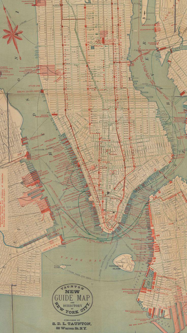 Horse routes in Manhattan (c1840)http://visualoop.com/18604/vintage-infodesign-62