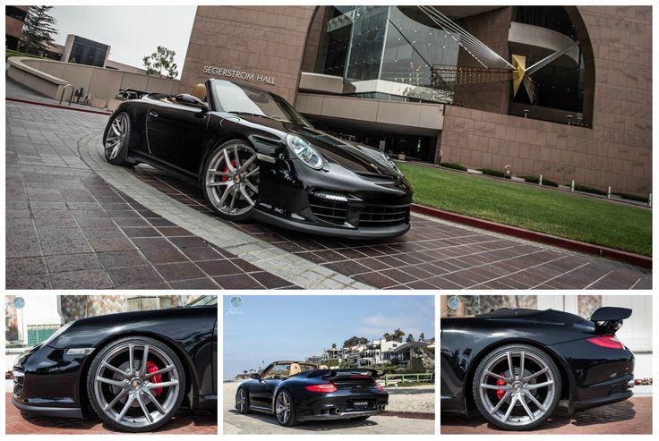 Porsche 997 Cabrio on Modulare Wheels – Relax in style
