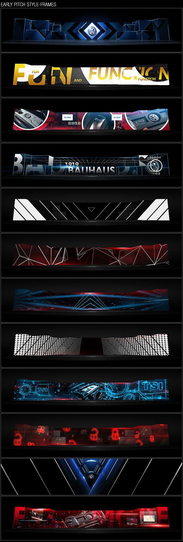 VW Sagitar Car Launch 2012 by Kaism Lim, via Behance