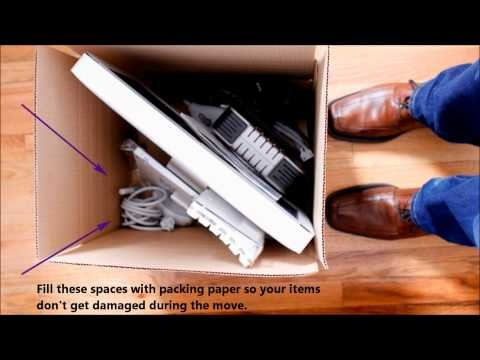 how to pack boxes for moving tips