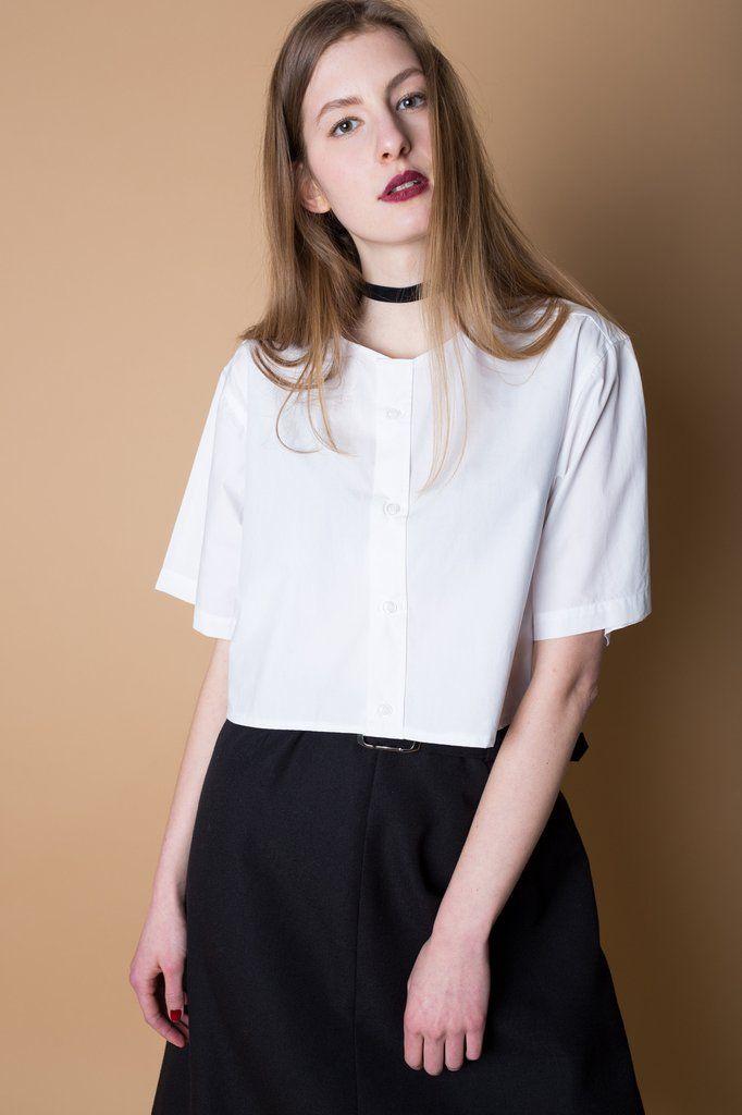Košile Blanco White