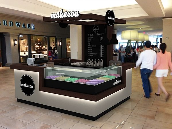 Makaron Shopping Mall Stand Design @Toronto on Behance