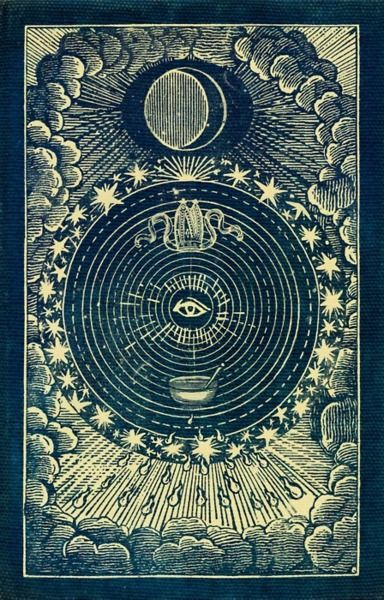 #tarot vintage occult posters and art