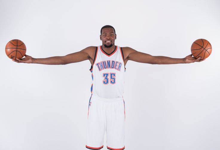 """A height of 6'9"""" and a 7'4"""" wingspan—add the skills of a shooting guard, and you have  Kevin Durant .    The man can cross you up, soar in for a highlight-reel dunk or even knock down an effortless three..."""