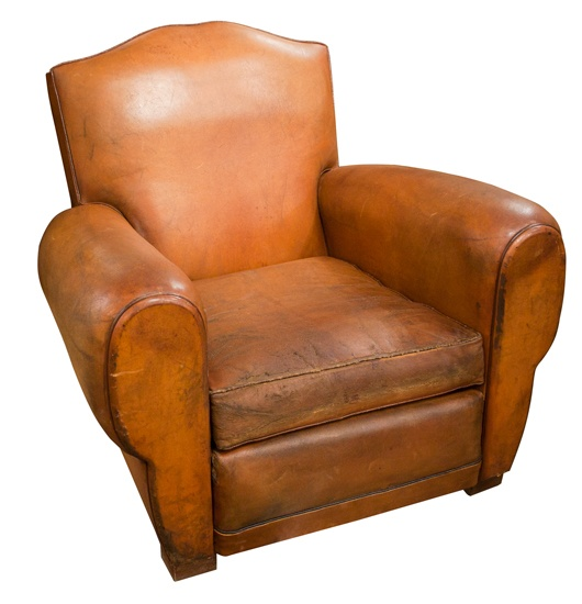 French Leather Club Chair  Havana Moustache  Model c 1950   The Old Cinema179 best Club Chairs images on Pinterest   Leather club chairs  . Havana Leather Armchair. Home Design Ideas