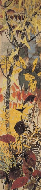 田中一村の作品, Isson Tanaka a Japanese Nihonga painter noted for his flower-and-bird paintings of the Amami Islands.1908-1977