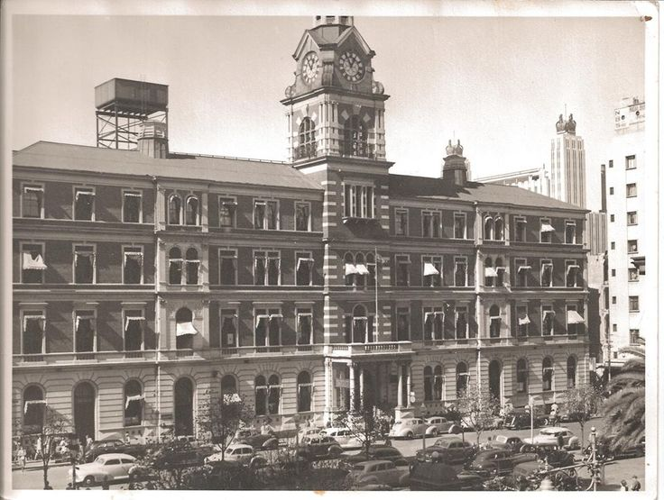 Rissik Street post office (1947) Johannesburg old and