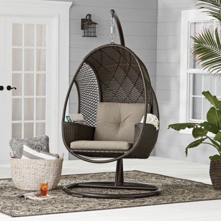Members Mark Woven Egg Chair With Cup Holder Various Colors In