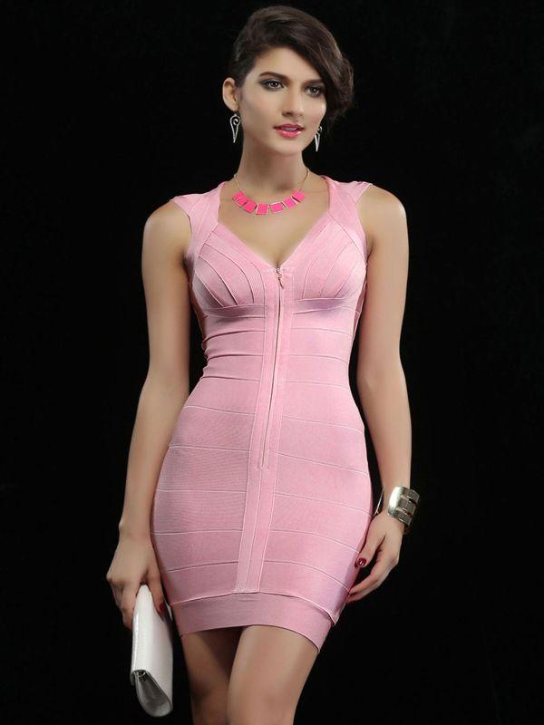 Mejores 55 imágenes de Bandage Dresses en Pinterest | Vestidos de ...