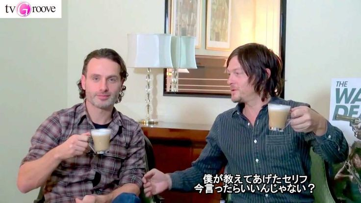 A must watch lol - Andrew Lincoln and Norman Reedus in Japan